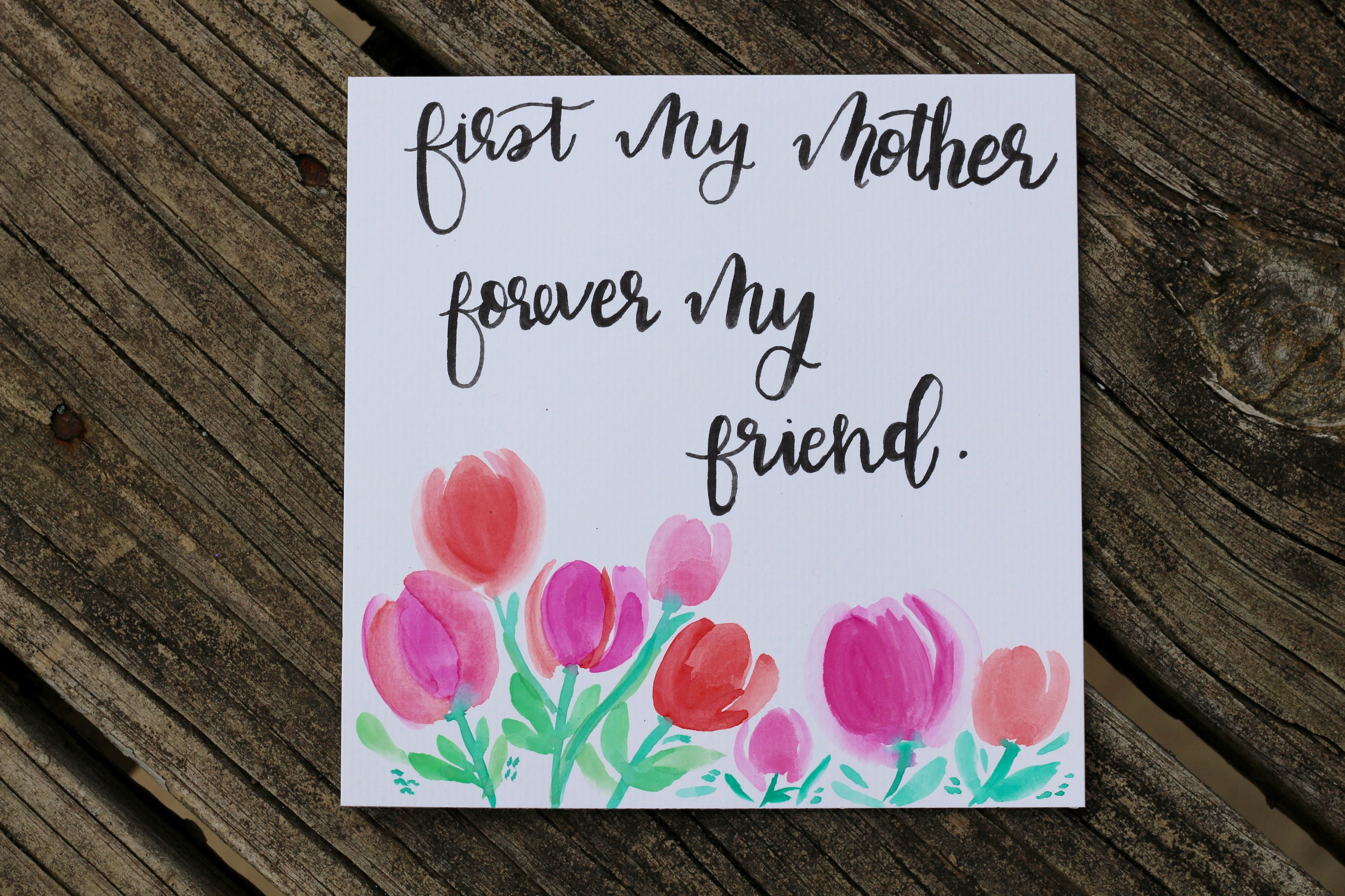 Handmade Mothers Day Cards Etsy Ideas