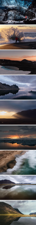 ICELAND - My Top 20 Photos of the Year 2016. All photos by @JanWaider (Vatnajökull Glacier, Jökulsárlón Glacier Lagoon, Snæfellsjökull, Stokksnes, Skarðsvík Beach, Ísafjörður, Westfjords, Svalvogar, Búðardalur, Hvalvatnsfjörður, Háifoss, Loftsalahellir Cave near Vik, Landmannalaugar, Reynisdrangar, Suðureyri, Akureyri and Dettifoss)
