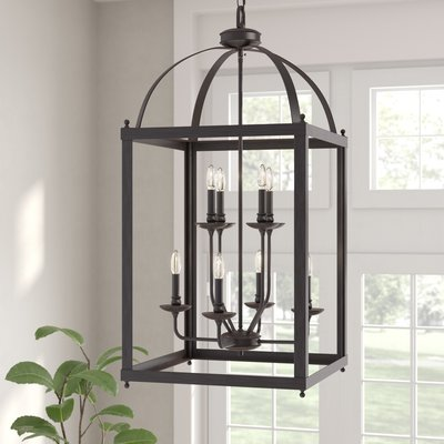 Roodhouse 6 Light Foyer Pendant In 2019 Kitchen Foyer