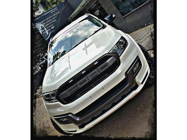 This Customised Ford Endeavour Is A Mean Looking Suv Ford Endeavour Ford Ford Ranger