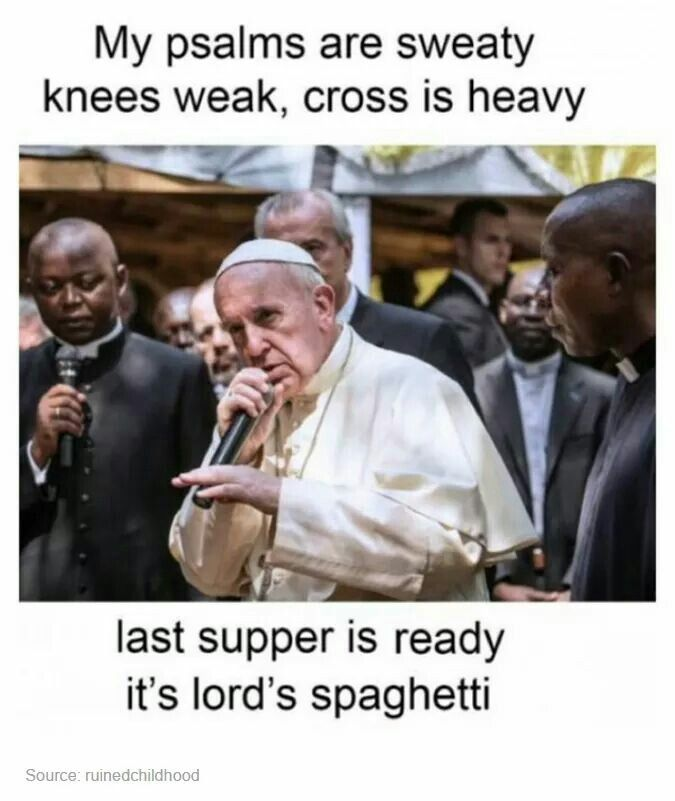 3bced7231d4cd31bc09b00605fb7ef9d pope rapping popety dopety pinterest memes, funny life and