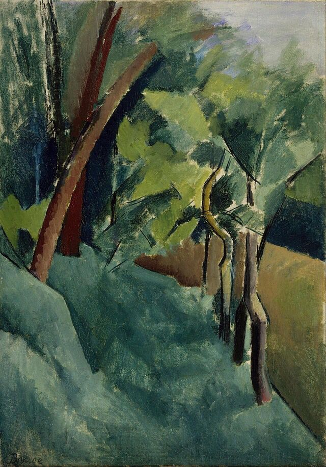 Patrick Henry Bruce- Landscape 1910-1914