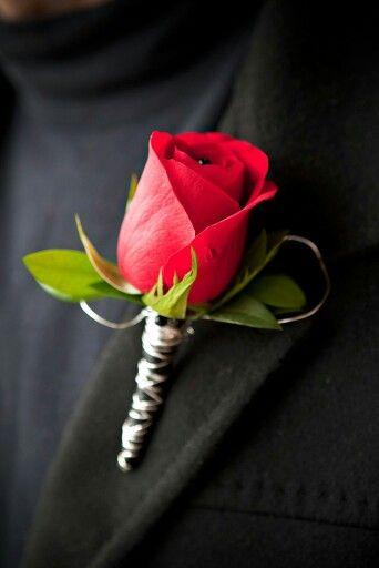 Always In Bloom Florist Red Bouquet Wedding Red Wedding