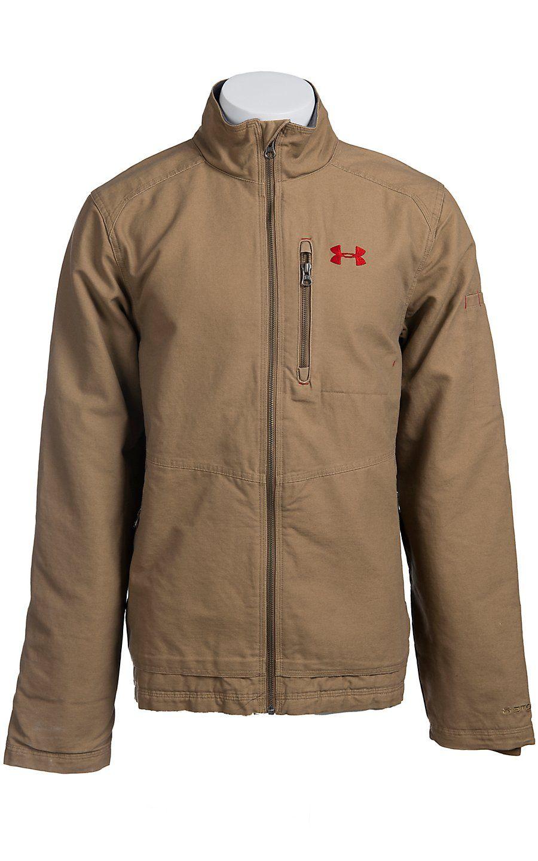acf8f110eeb24 Under Armour® Men's Saddle UA Burley Jacket 1239719257   Outerwear ...
