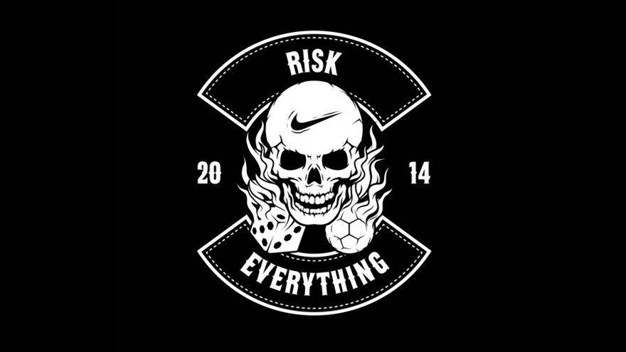 Nike Football Risk Everything Logo 2014 Hd Wallpapers Png Text Nike Logo Wallpapers Photo Website