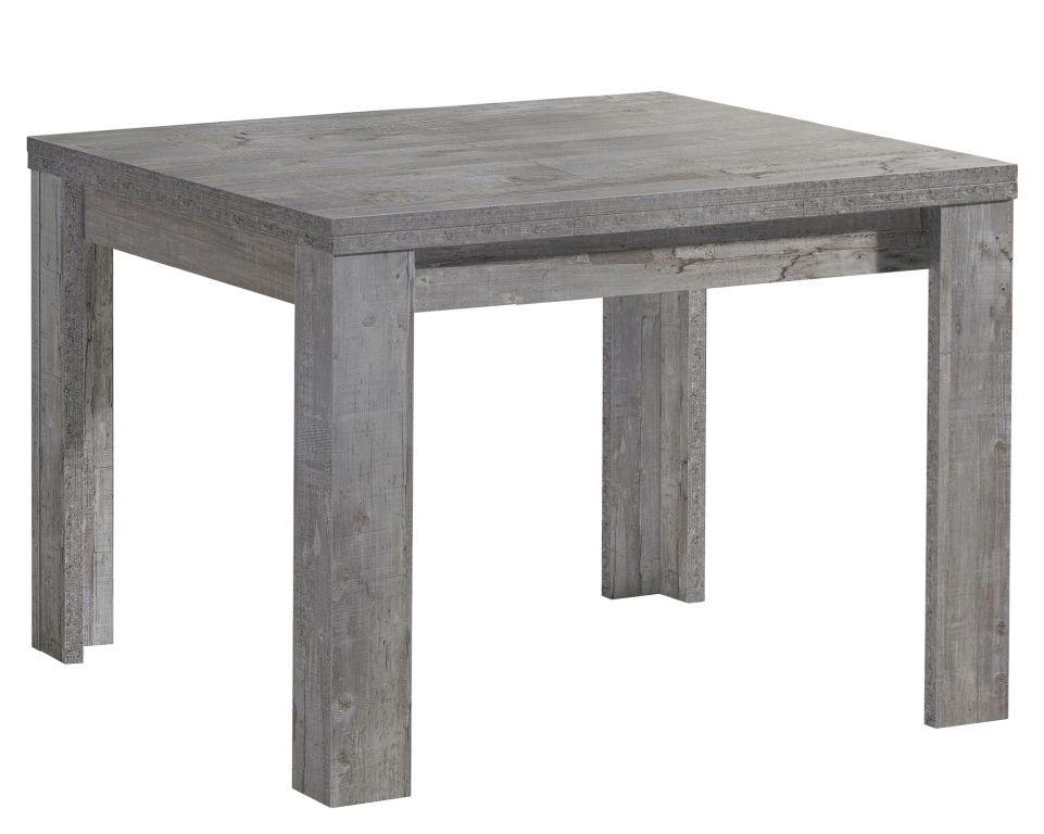 Ausziehbarer Esstisch 80 X 60 Cm Monzi Beton Holztisch Grau