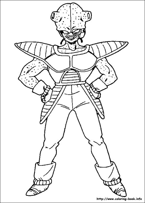 Dragon Ball Z coloring page • Mature Colors | Coloring pages ...
