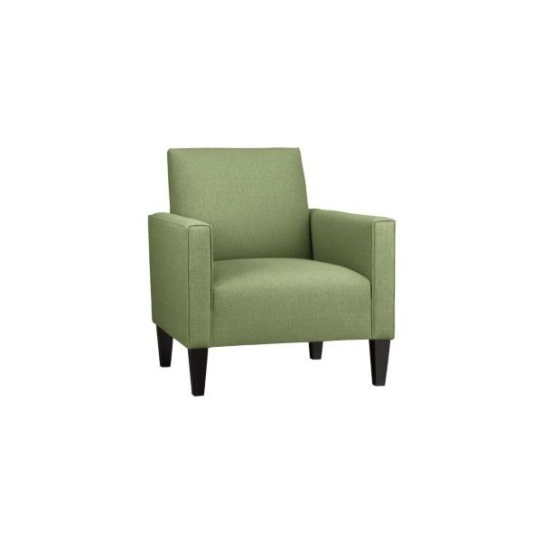 Camden Chair Ping In Crate And Barrel Upholstered Chairs Found On Polyvore