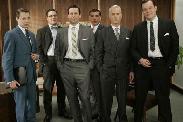 Get a haircut like the guys from Mad Men.