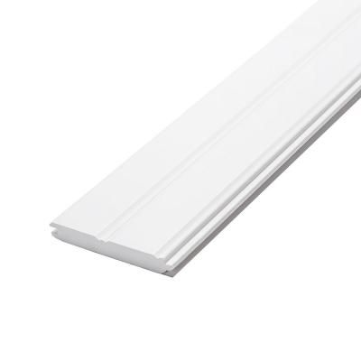 Cmpc 1 In X 6 In X 8 Ft Radiata Pine Primed Finger Joint Edge And Center Bead Panel 6 Pack 0028789 Tongue And Groove Panelling Finger Joint Paneling