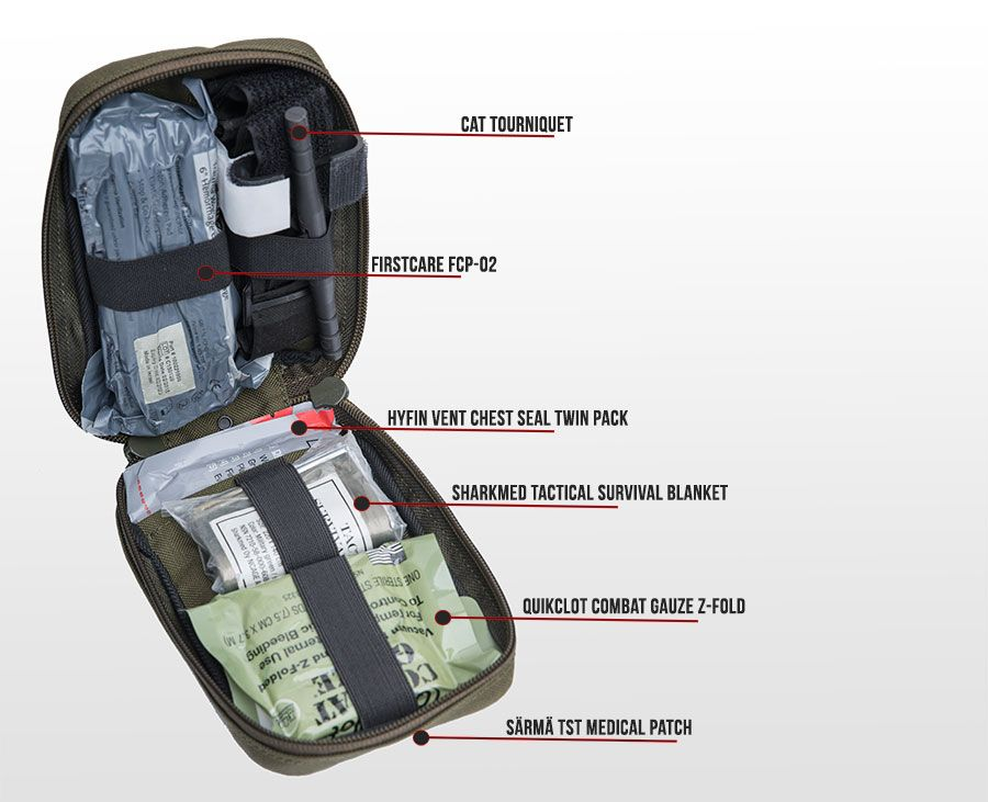 Sarma Tst Ifak Pouch Ifak Medical Kit Medical Supplies