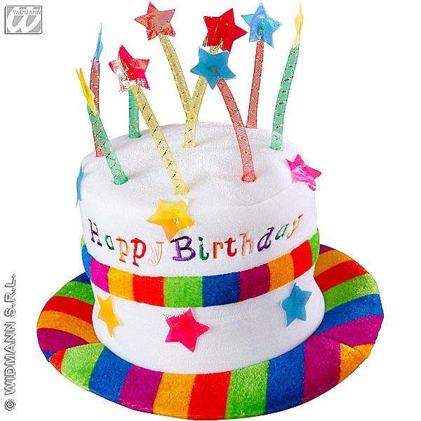 8ad103af235 Sombrero de Terciopelo Cumpleaños - ChristyDisfraces.