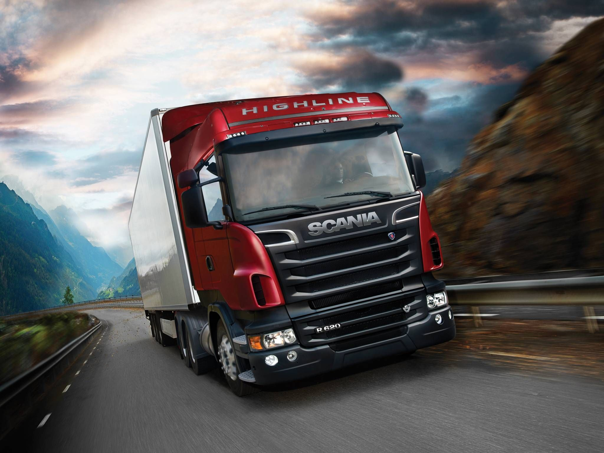 Scania Hd Wallpapers Backgrounds Wallpaper