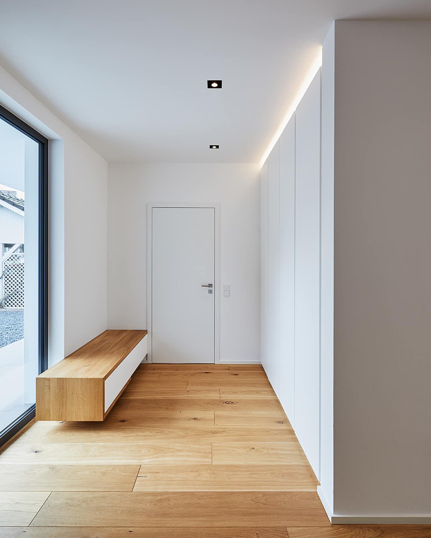 Efh in bornheim moderner flur, diele & treppenhaus von philip kistner fotografie modern holz holznachbildung | homify