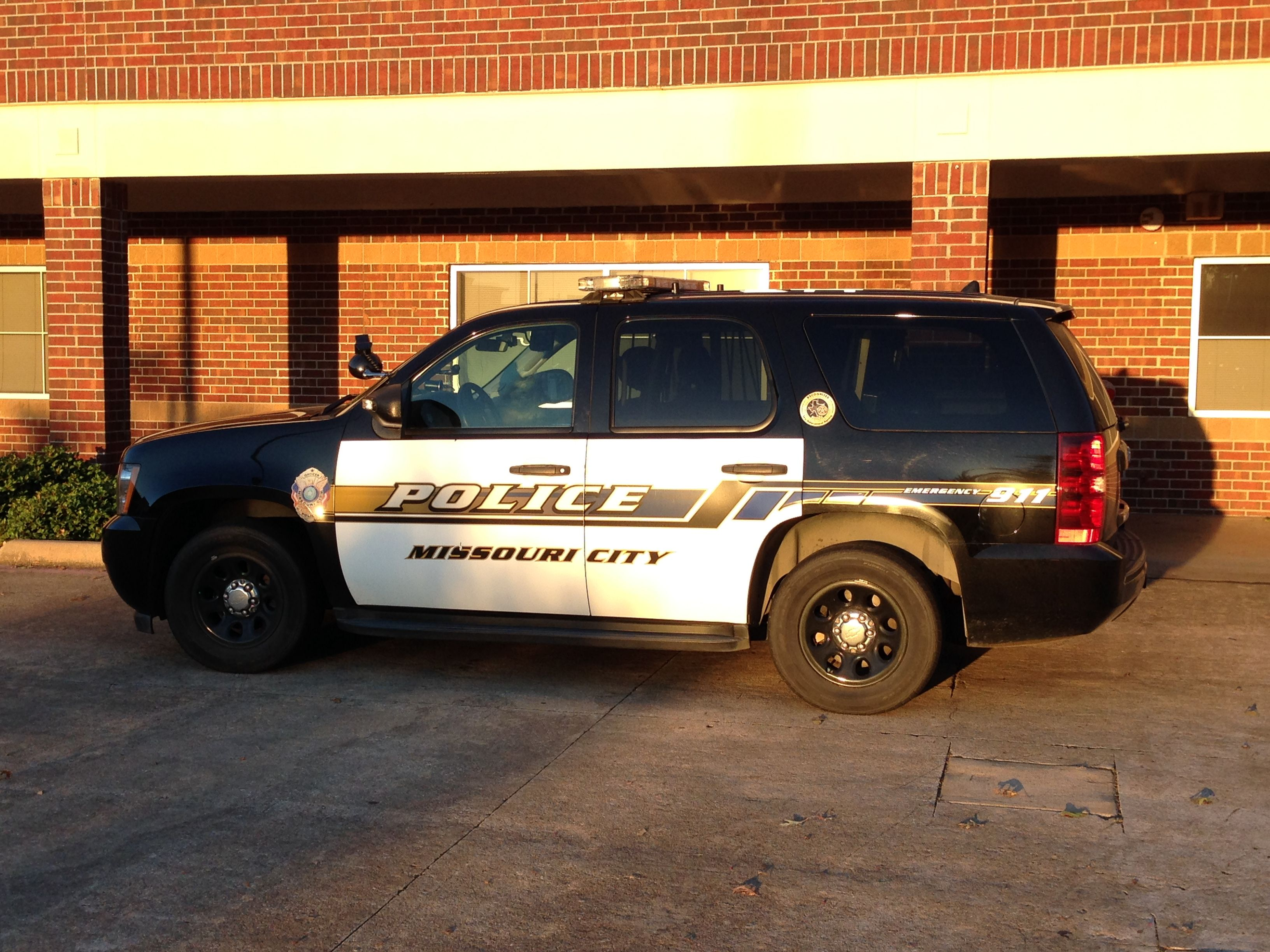 Missouri City Police Chevy Tahoe Texas With Images Police