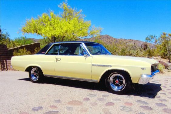 1965 Buick Skylark Gs 2 Door Hardtop 138355 Buick Skylark Buick Buick Cars