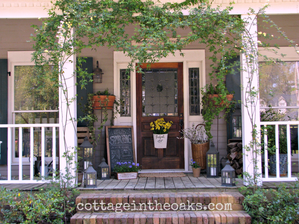 Front Door Ideas Summer - Spring front porch