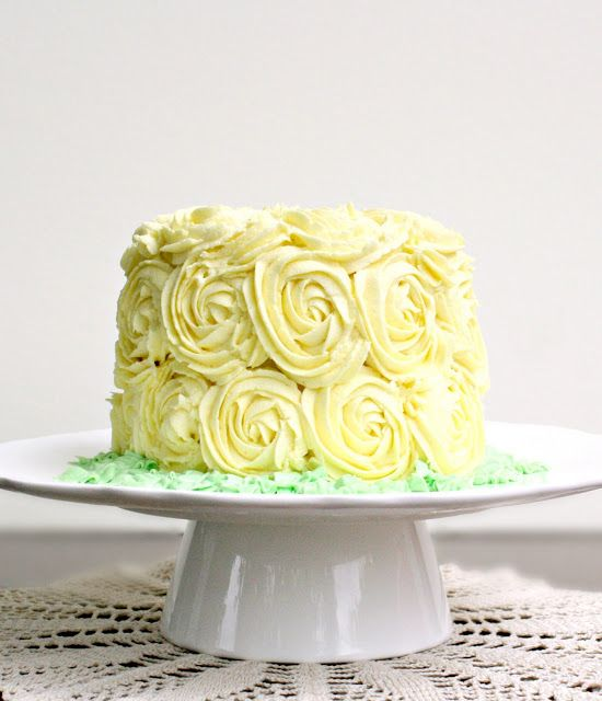 Yellow Rose of Tyrell Cake recipe -- tastes of hazelnut and has a ...