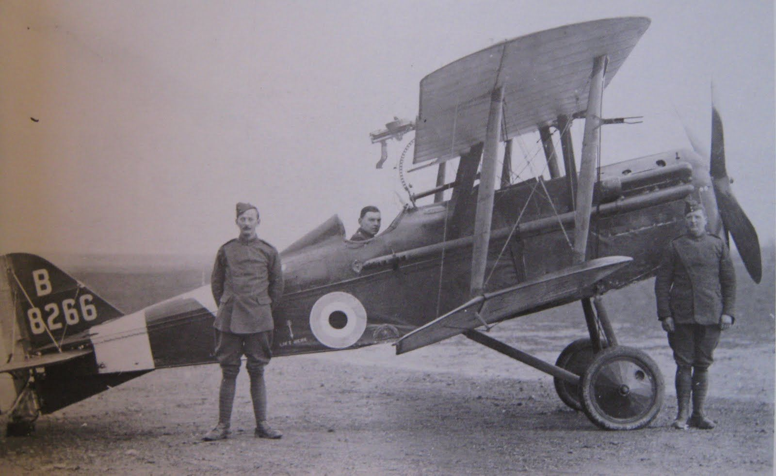 Image result for photographs of SE5a squadrons 1918