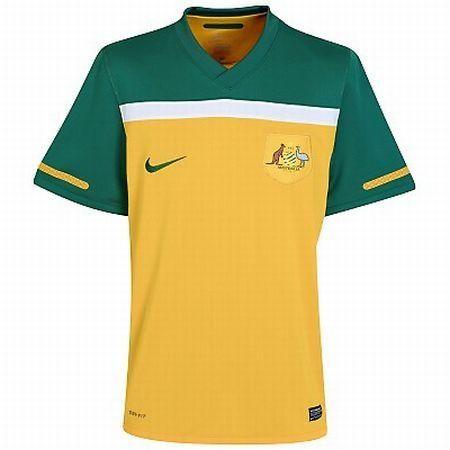 Australia National Team 2011 12 Home Nike Football Kits Football Fashion Football Kits