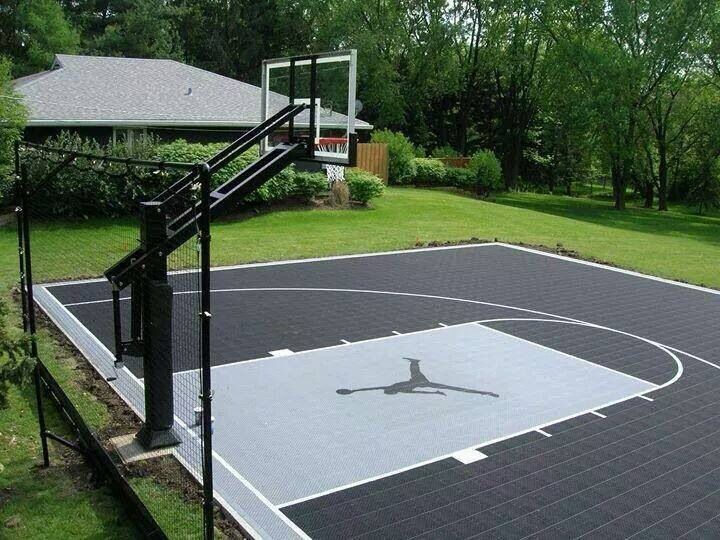 basketball court basketball terrain de basket panier basketball basket ball. Black Bedroom Furniture Sets. Home Design Ideas