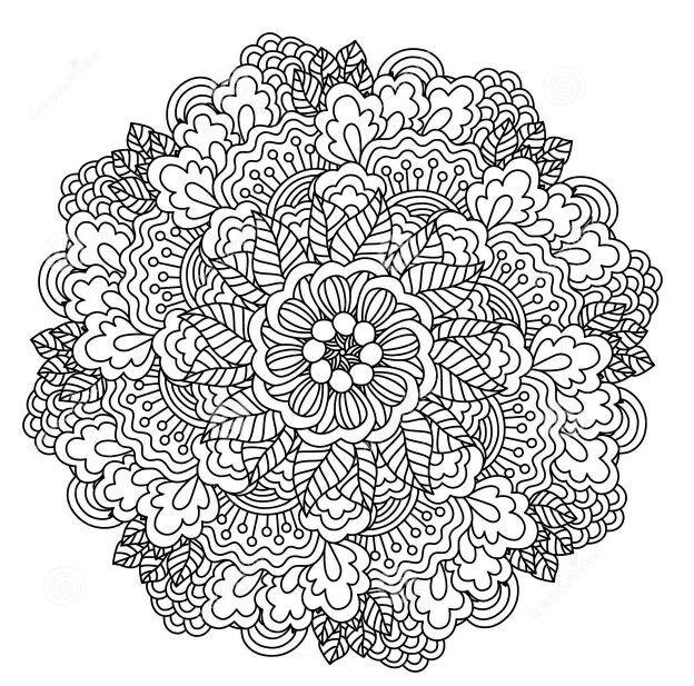 1250x1234 pix   Coloring Pages   Pinterest   Mandala, Mandalas and ...