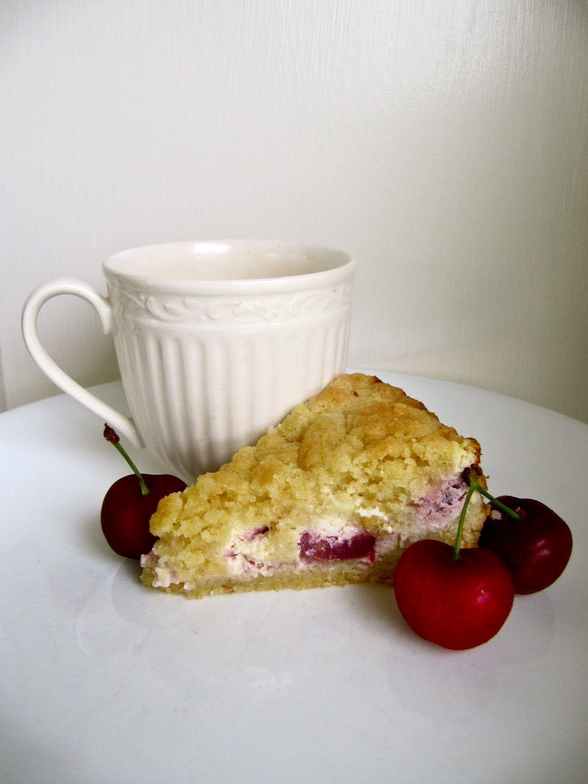 Cherry Cheese Coffeecake | Yammie's Noshery