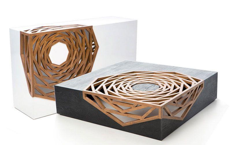 Mobili In Legno Design.Geometria Ed Esotismo Vito Selma E L Intrinseca Bellezza