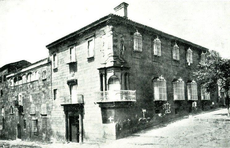 Palacio del Marqués de Santa Cruz.en Plasencia