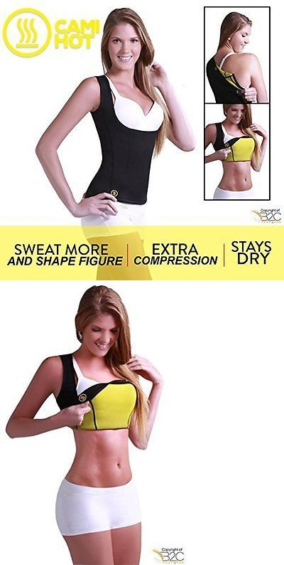 Other Womens Fitness Clothing 13360: Hot Shapers Cami Hot Shirt Women S (Large, Black) -> BUY IT NOW ONLY: $47.18 on eBay!