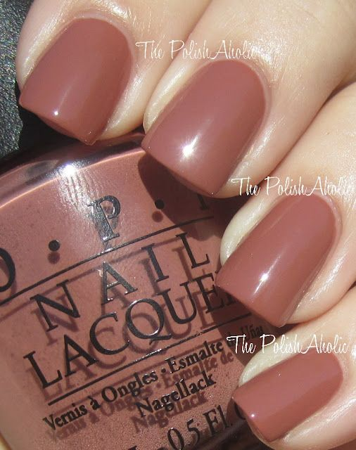 Chocolate Mousse Opi Swatch