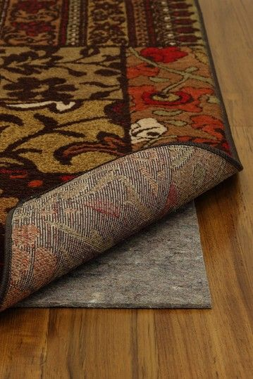 Keep Your Rugs From Slip Sliding All Over The Place I Need One Of These I Am Constantly Moving My Rug All Over The Pla Area Rug Pad Rug Pad Reversible