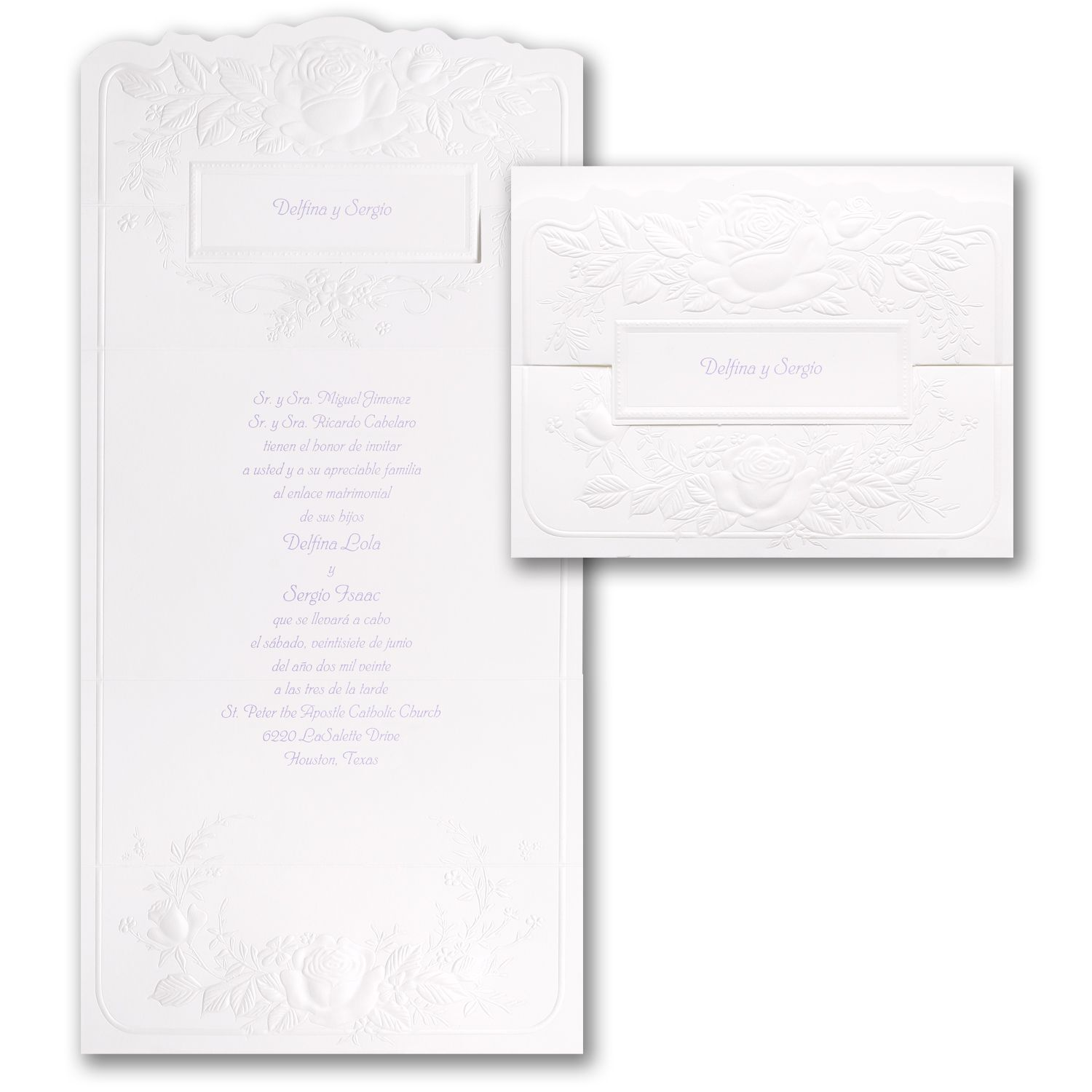 Pearl Roses - Invitation. Available at Persnickety Invitation Studio ...