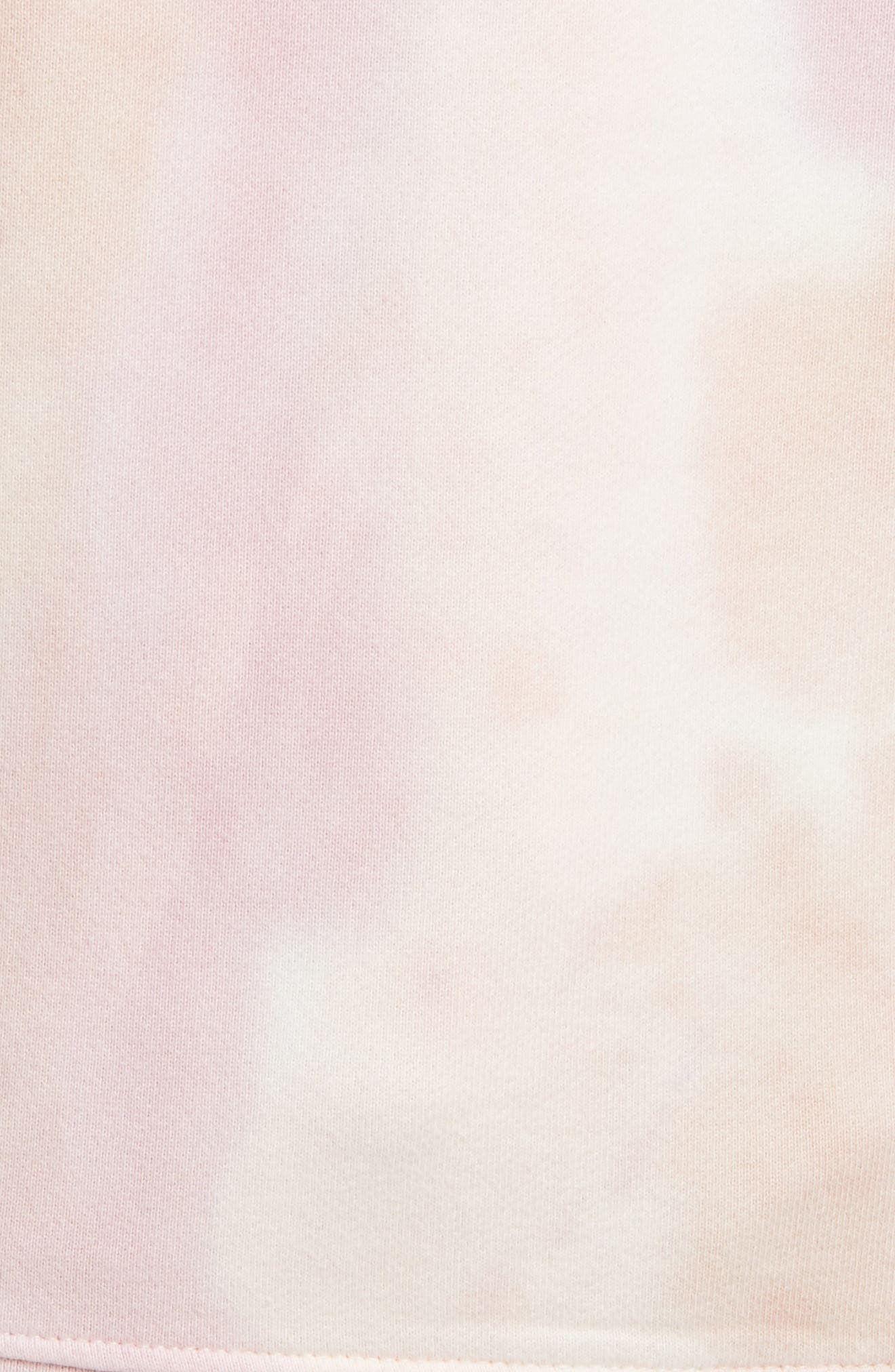 Men's Scotch & Soda Women's Tie-Dye Graphic Hoodie, Size Medium - Pink