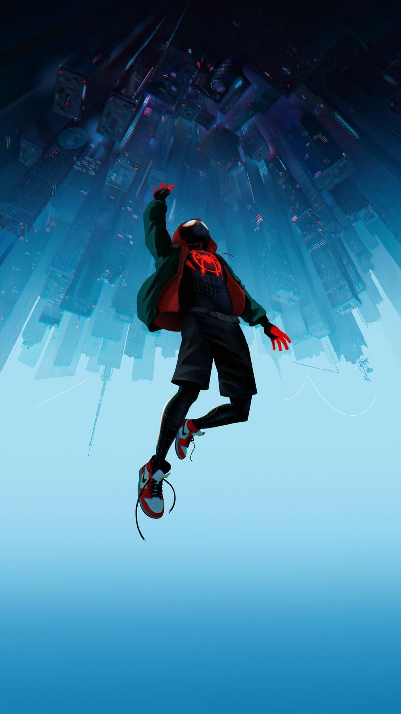 Spider Man Into The Spider Verse 2018 Phone Wallpaper Moviemania Marvel Spiderman Spiderman Spider Spiderman Art