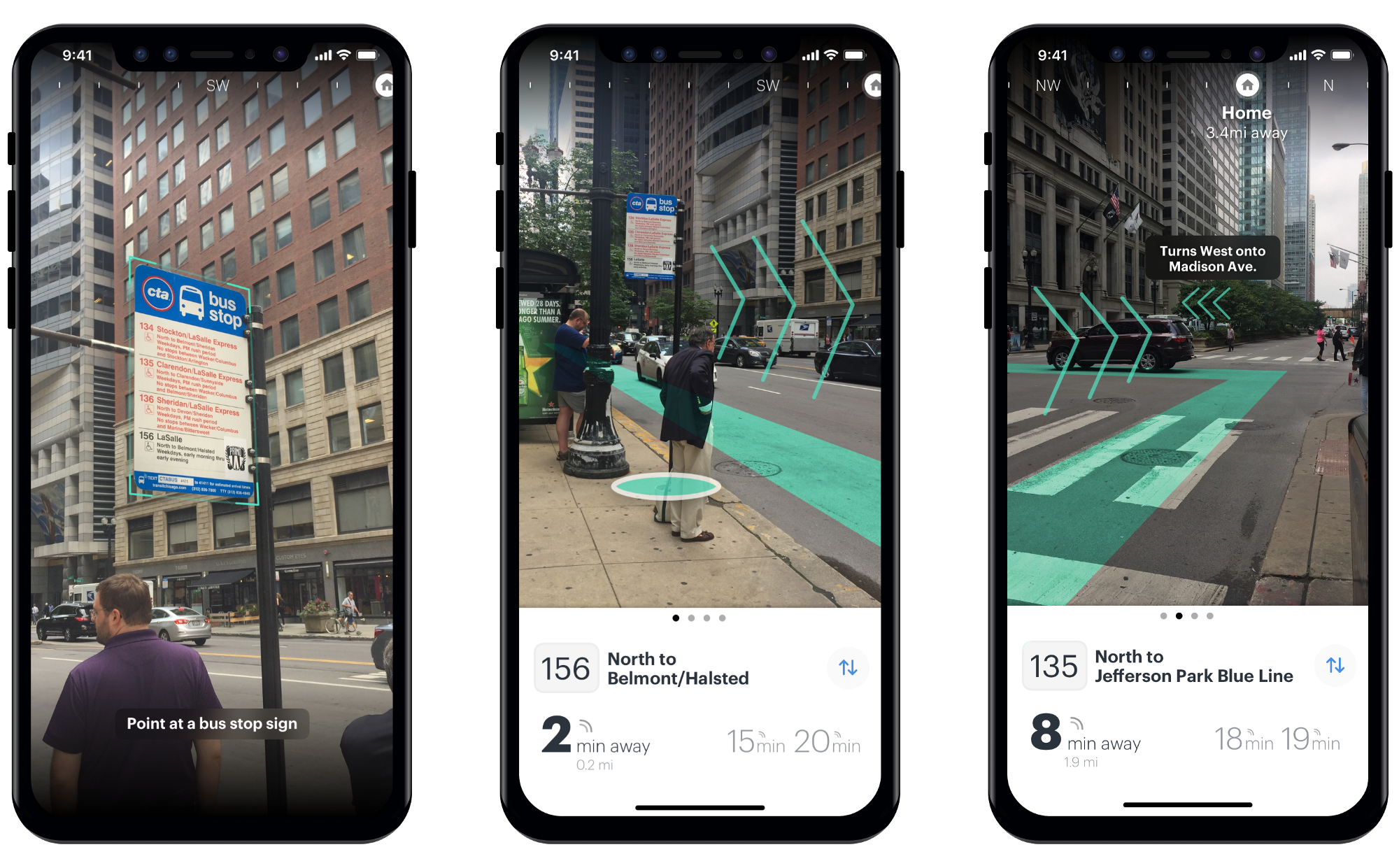 Enhancing Chicago's public transit with Augmented Reality