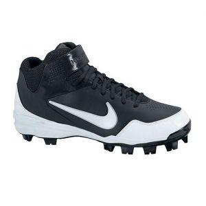 Mens Nike 2KFresh Baseball Cleats Black