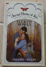USED (GD) Lucky's Woman (Second Chance at Love) by Delaney Devers