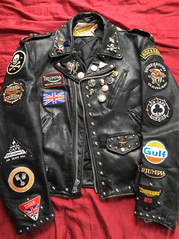 d7ed64fc5 Schott Perfecto custom rocker jacket | Ton up boys: Rockers ...