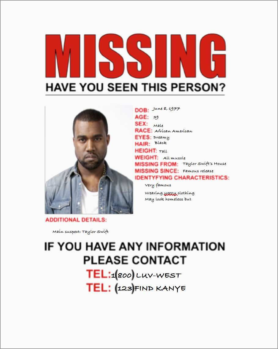 Missing Person Poster Template Best Of Missing Persons Flyer Poster Template Missing Posters Poster Template Design