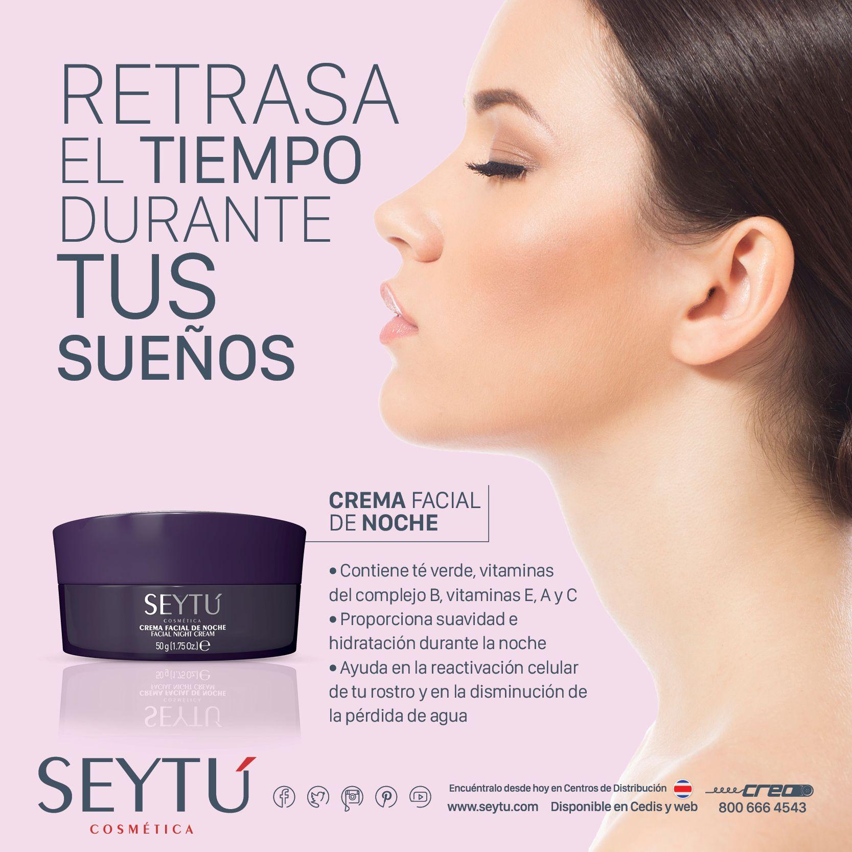 ¡Retrasa la aparición de las líneas de expresión y los signos de la edad mientras duermes!  http://bit.ly/1O3gZh9 Disponible en Costa Rica