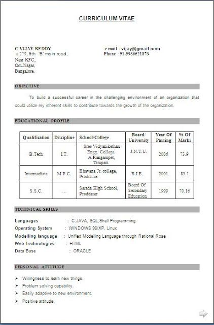 Best Resume Objectives Free Download Sample Template Excellent