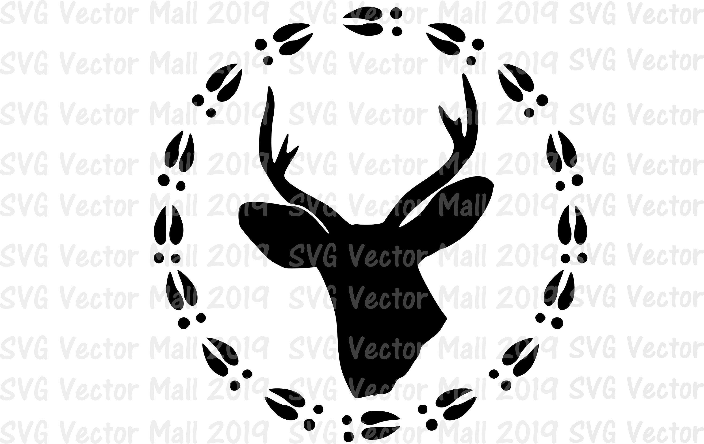 Deer Head Svg Deer Head Vectors Hunting Svg Deer Hunting Etsy In 2021 Wood Burning Patterns Stencil Deer Decal Svg