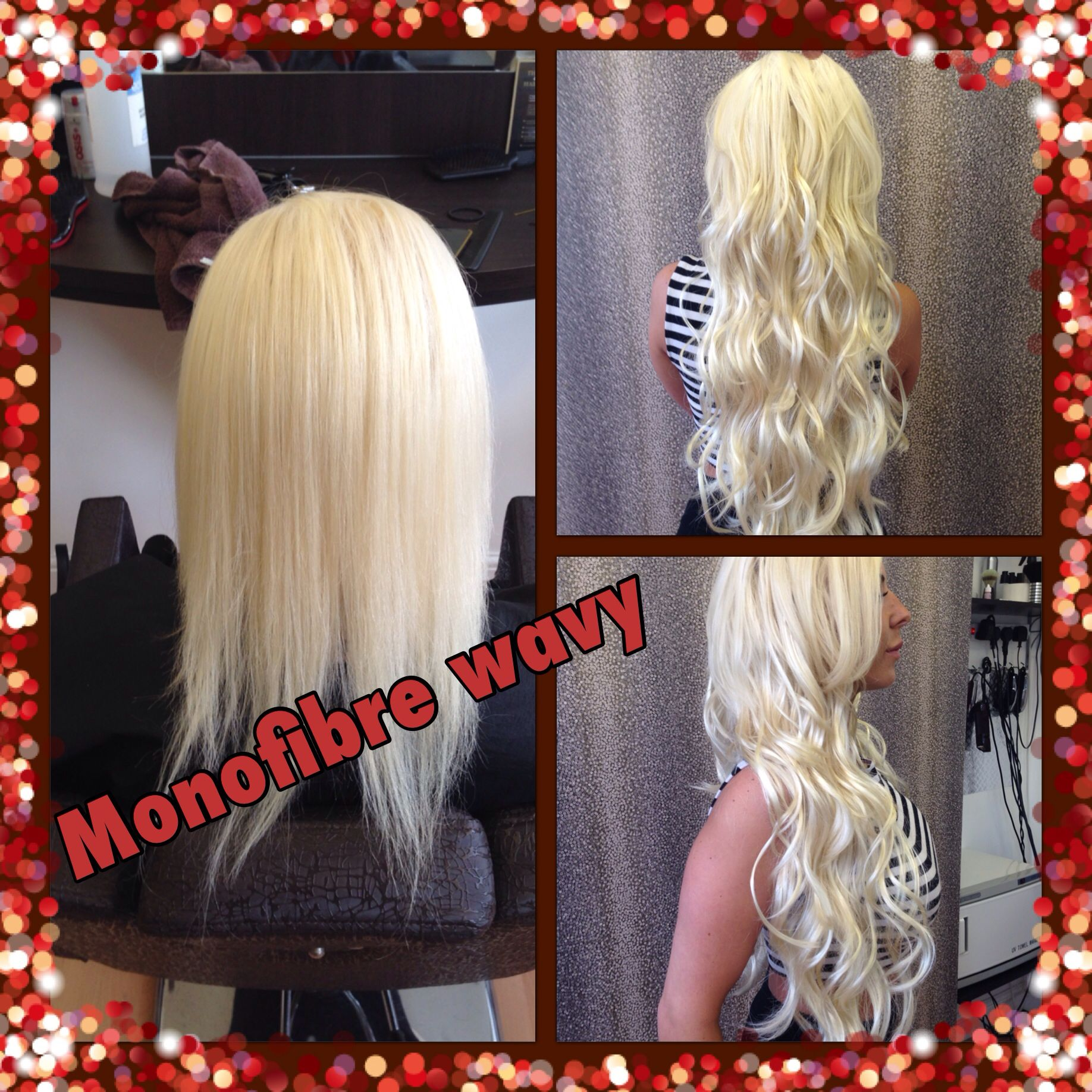 Monofibre Hair Extensions Full Head Classic Womens Hair By Mary