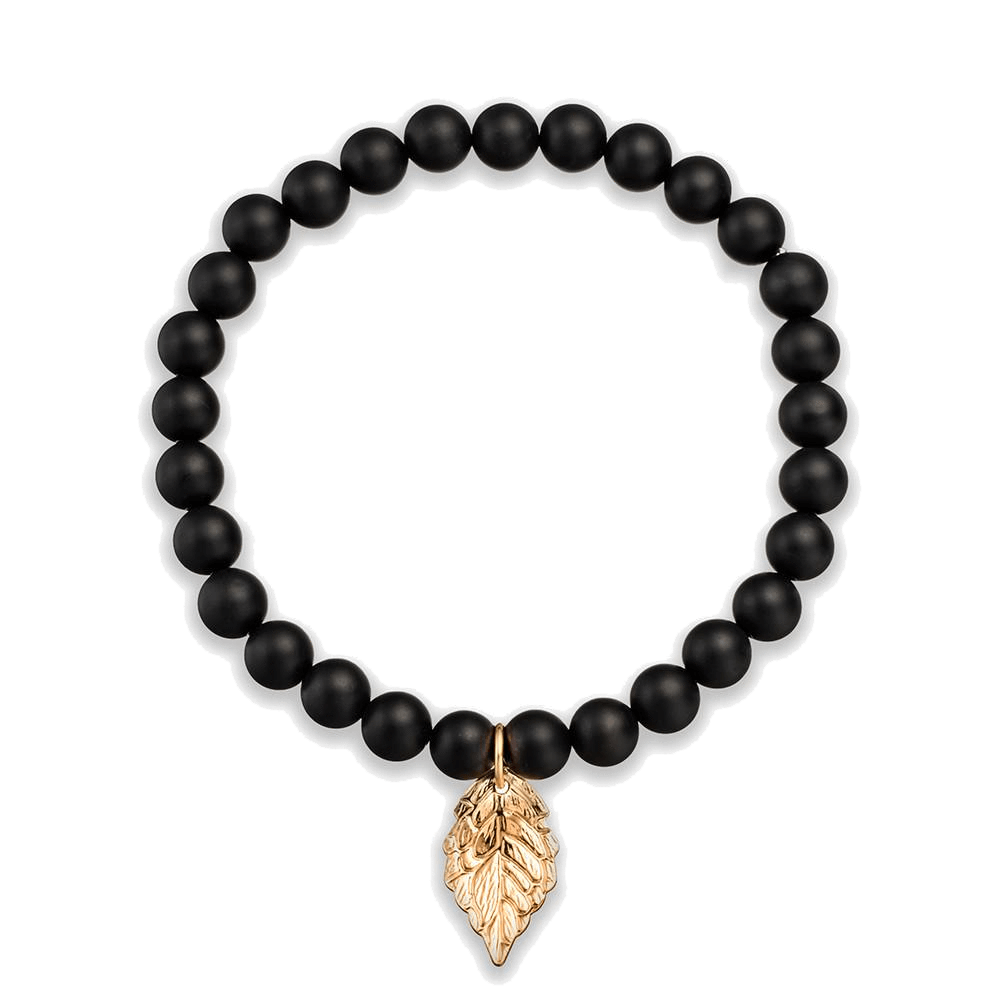 Leaf charm bracelet leaves and bracelets