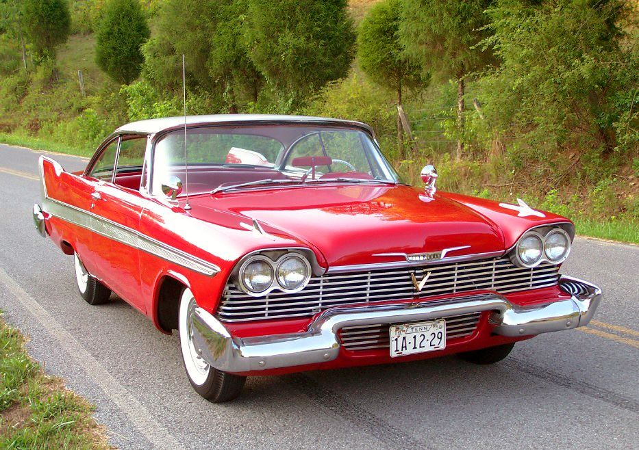 red 1958 plymouth fury christine christine plymouth. Black Bedroom Furniture Sets. Home Design Ideas