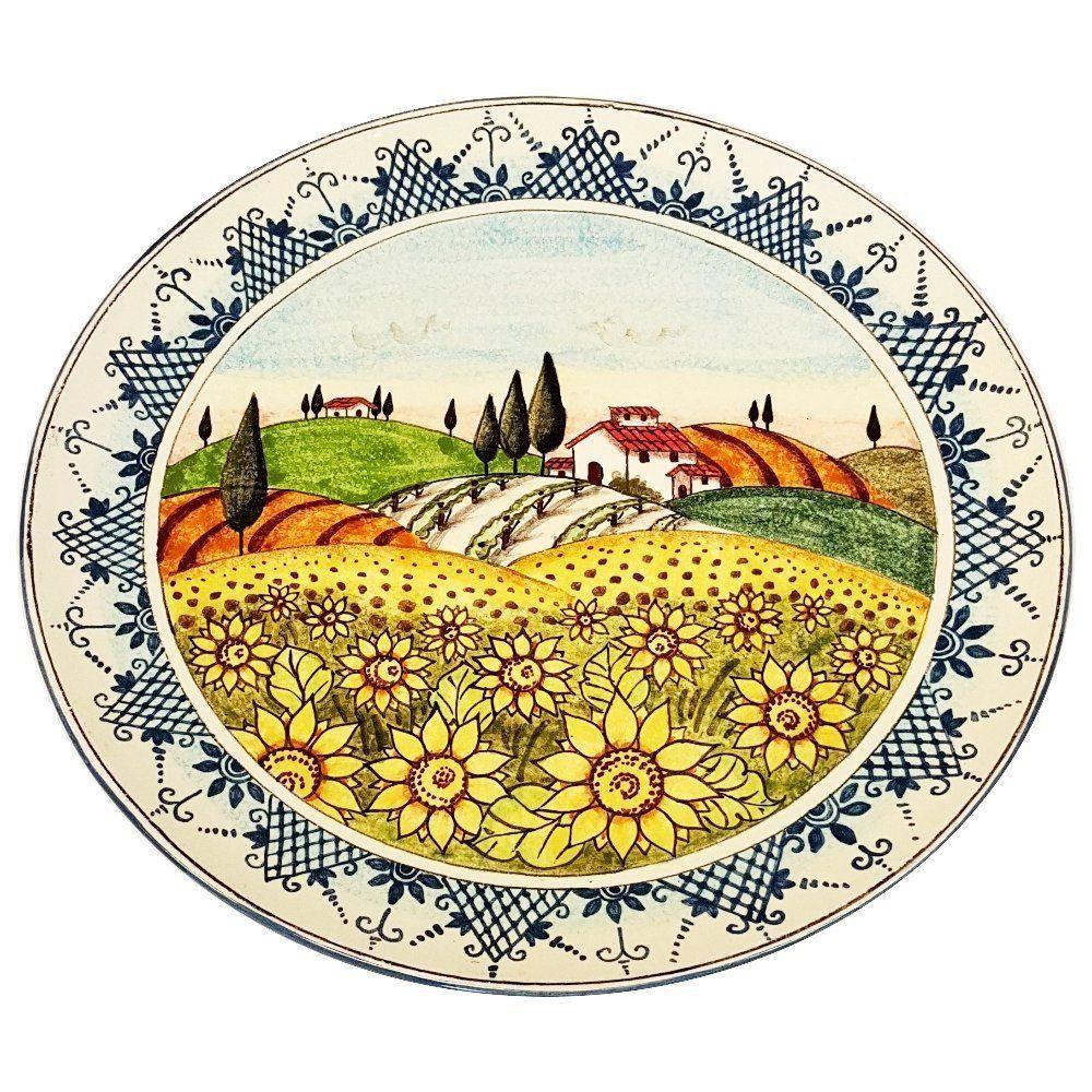 CERAMICHE D\'ARTE PARRINI - Italian Ceramic Art Pottery Big Plate ...