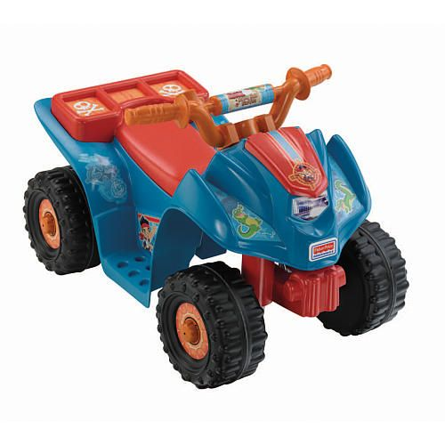 Toys R Us Ride : Power wheels jake and the never land pirates lil quad