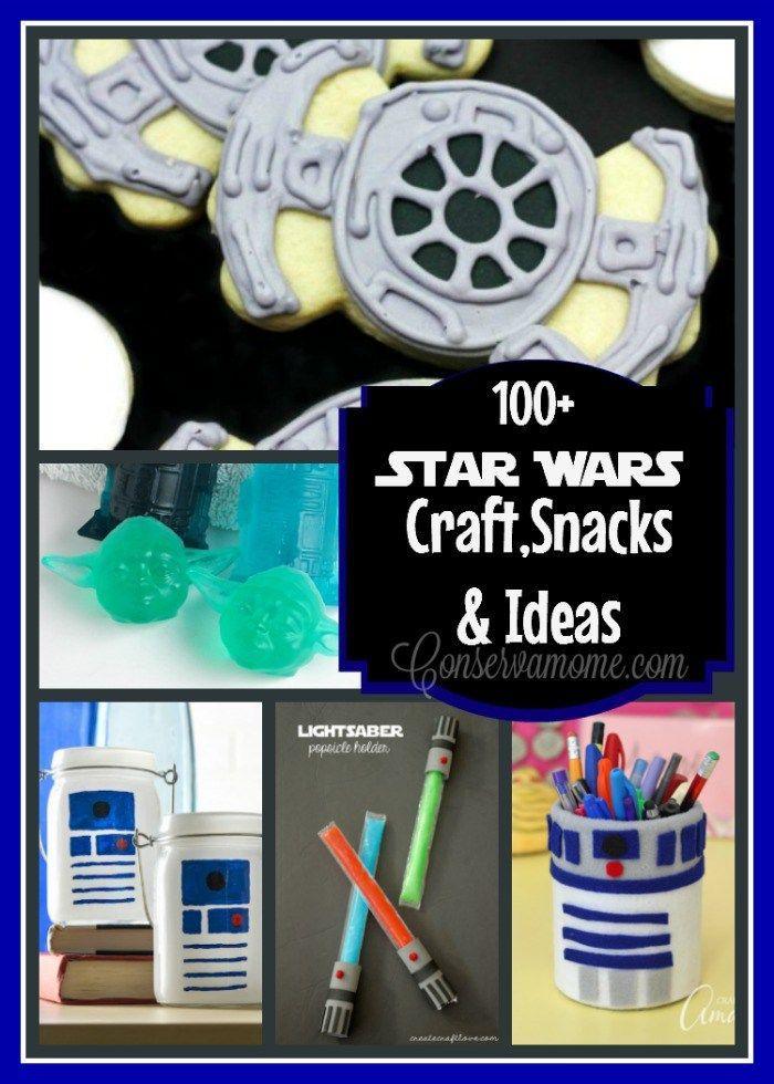 100 Star Wars Craft Snacks Ideas Conservamom S Favorites