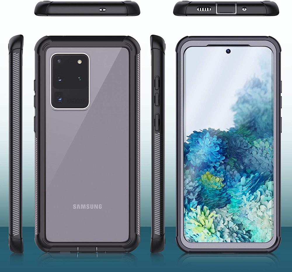 For Samsung Galaxy S20 Ultra Case Full Body With Built In Screen Protector Shockproof Rugged Cover Samsung Galaxy Samsung Galaxy